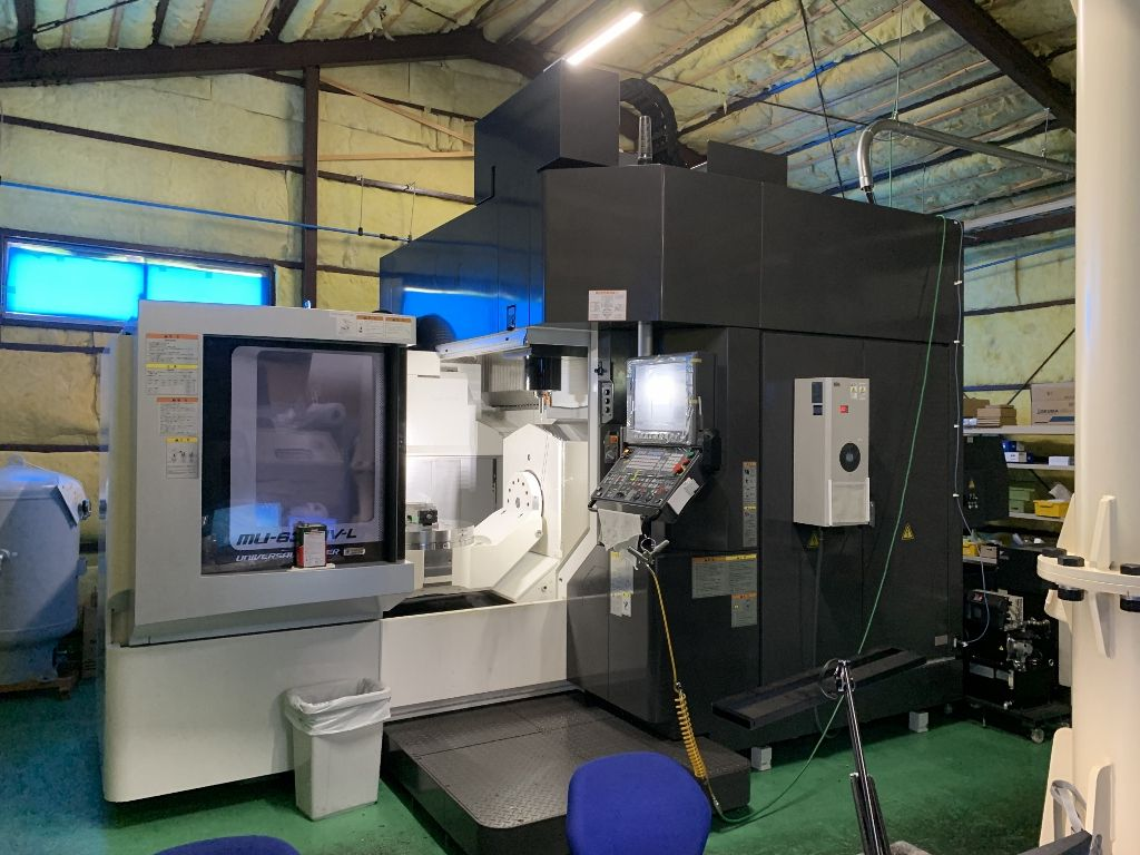 Used 5 Axis Machining Center Okuma MU-6300 V-L 2017