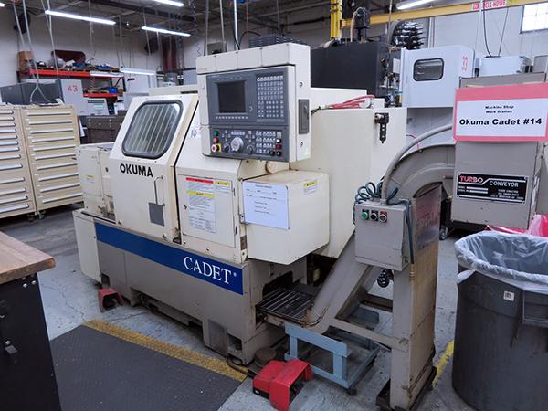 Used CNC Lathe Okuma Cadet LNC8 1996