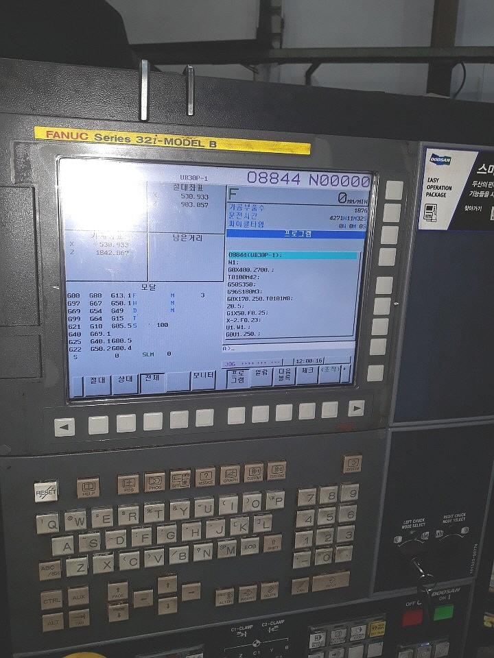 Used CNC Lathe Doosan Puma-700L 2018