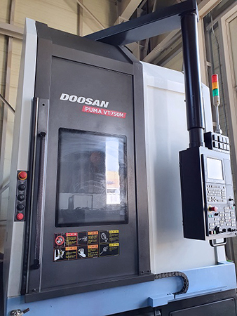 Used Vertical Turning Center Doosan Puma VT750M 2014
