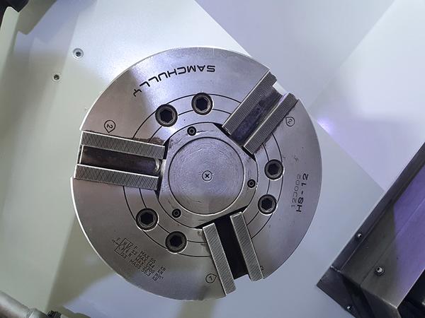 Used CNC Lathe Doosan Puma-400LMA 2013