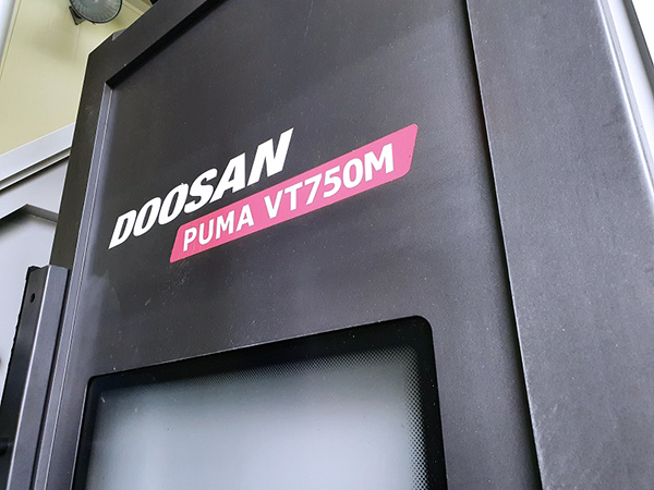 Used Vertical Turning Center Doosan Puma VT750M 2012