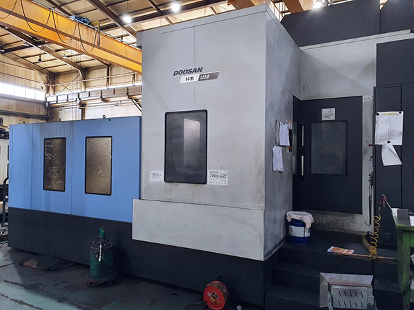 Used Horizontal Machining Center Doosan HM1250 2016