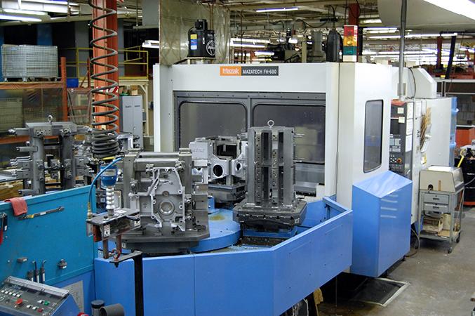 Used Horizontal Machining Center Mazak FH680 1997