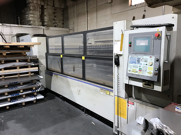 Used Laser Cutting Machine Mitsubishi ML3015Plus (S) 2006