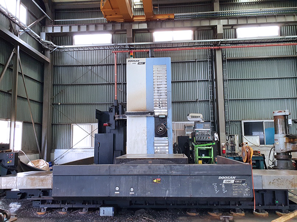 Used Horizontal Boring Mill Doosan DBC 130L II 2017