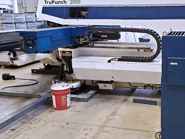 Used Turret Punch Trumpf TruPunch 3000 MF 2012