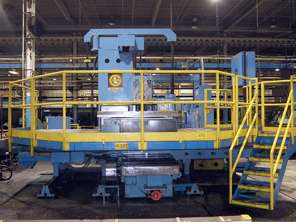 Used Horizontal Boring Mill Giddings & Lewis PC 50 2010 Retrofit