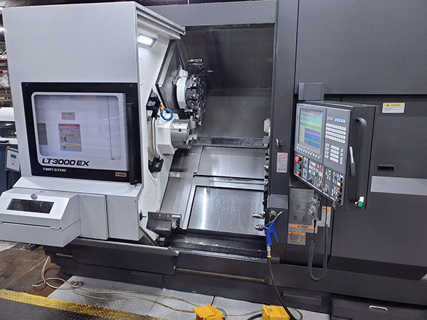 Used CNC Multi-Spindle Lathe Okuma LT3000-EX2T2MY 2017
