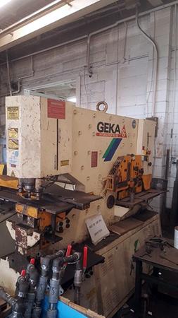 Used Ironworker GEKA Hydracorp 110 2003