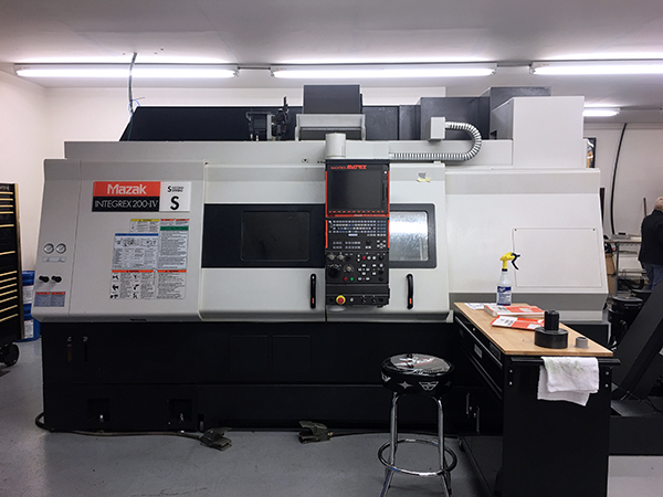 Used 5 Axis Lathe Mazak Integrex 200-IVS 2009