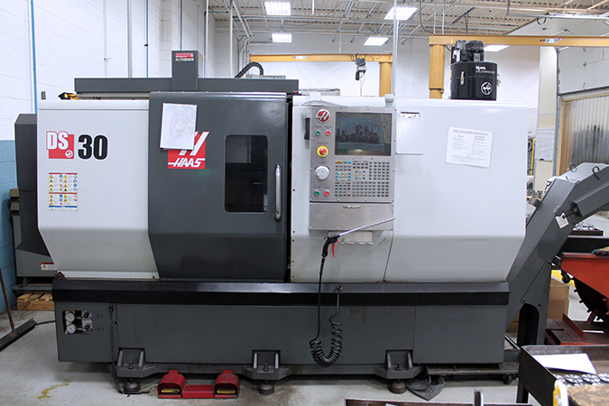 Used CNC Lathe Haas DS-30 2012
