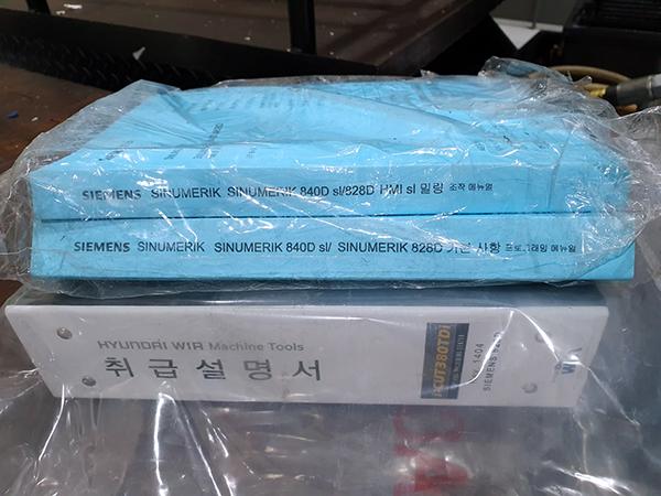Used Vertical Machining Center Hyundai WIA i-CUT380TDi 2014