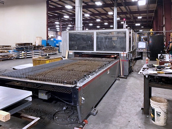 Used Laser Cutting Machine Cincinnati CL-440 2013