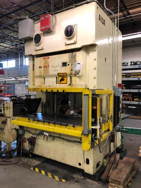 Used OBI Press Aida NC2-160(2) 1986