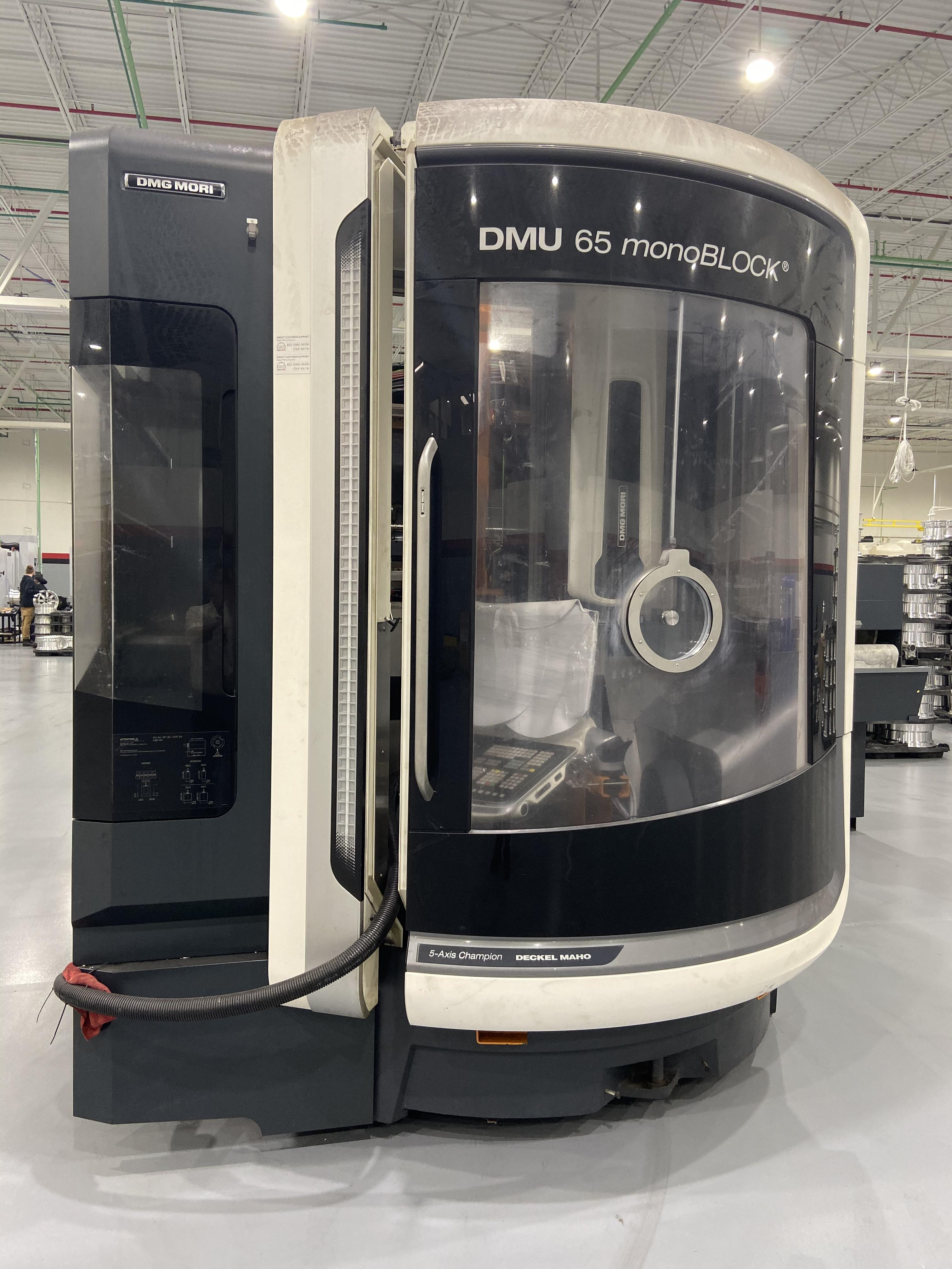 Used 5 Axis Machining Center DMG Mori DMU 65 MonoBlock 2016