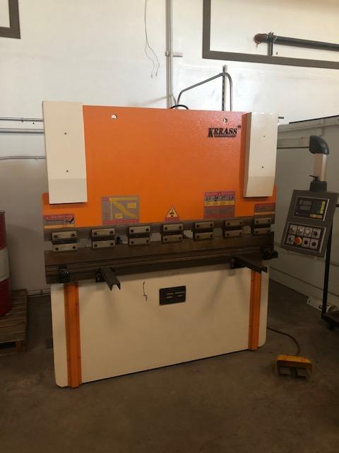 Used Hydraulic Press Brake Krrass WC67K 30T/1600 2015