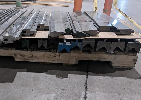 Used Hydraulic Press Brake Accurpress Advantage 725012 2007