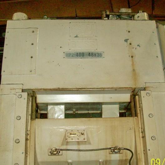 Used Straightside Press  Bliss HP2-400 1973