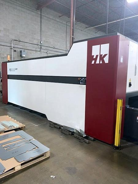 Used Fiber Laser Cutting Machine  HK FS3015 2018