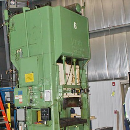 Used Straightside Press  Verson 150-S2-60