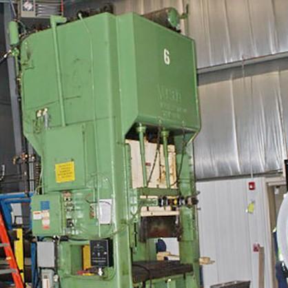 Used Straightside Press  Verson 150-S2-60
