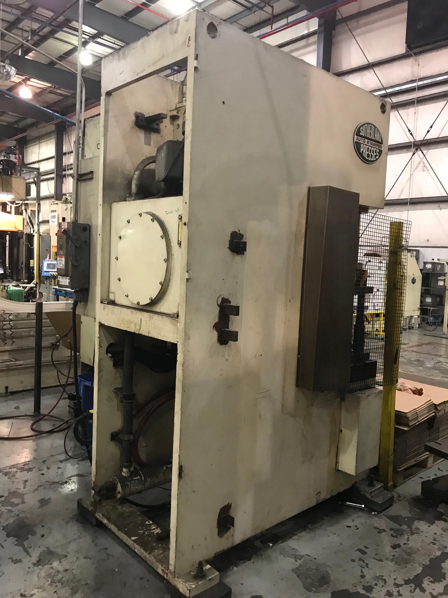 Used Hydraulic Press  Sutherland CPS-100C 1999
