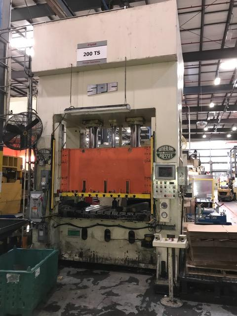 Used Hydraulic Press  Sutherland HD-200S 1999