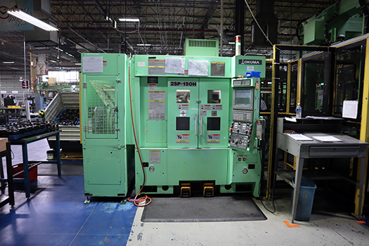 Used CNC Multi-Spindle Lathe Okuma 2SP 150H 2012
