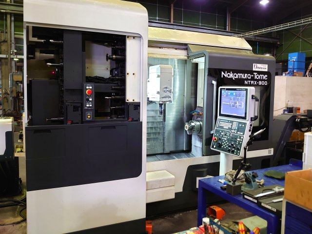 Used Multi Axis CNC Turning Center Nakamura-Tome Super NTRX 2016