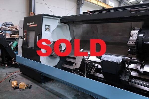 Used CNC Lathe Doosan Puma 400 XLC 2010
