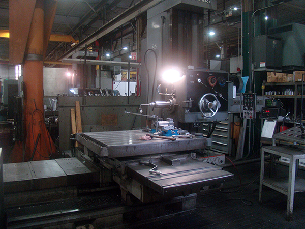 Used Horizontal Boring Mill Kuraki KBT-1003W 1980