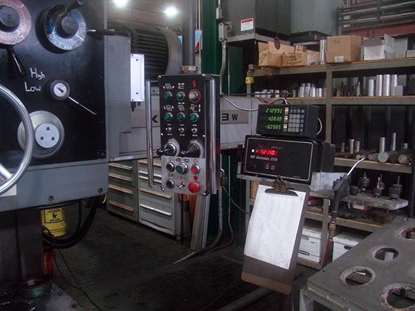 Used Horizontal Boring Mill Kuraki KBT-1003W 1980