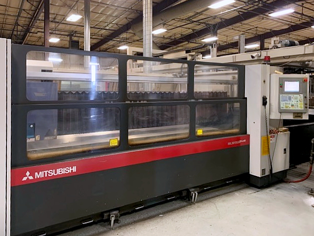 Used Laser Cutting Machine Mitsubishi ML 3015 LVPLUS 2008
