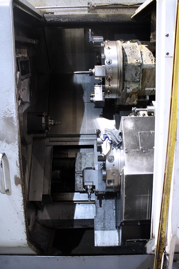 Used CNC Lathe Okuma LU-300-2M2SC600 2005