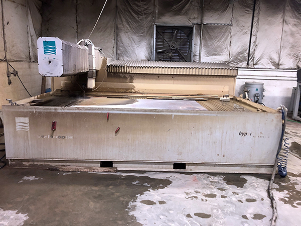 Used Water Jet Flow IFB Stonecrafter 2009