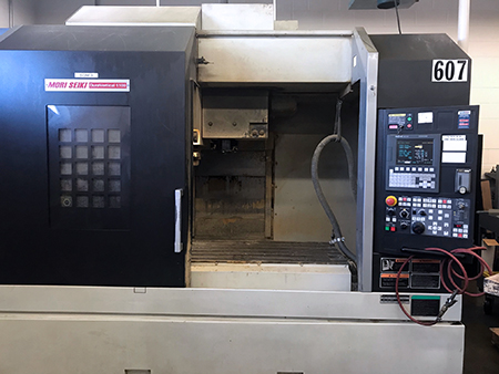 Used Vertical Machining Center Mori Seiki DuraVertical 5100 2007