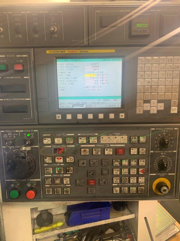 Used CNC Lathe Hyundai WIA E160LMC 2015