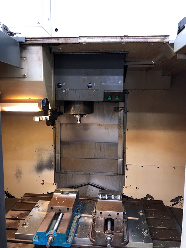 Used Vertical Machining Center Mori Seiki DuraCenter 2006