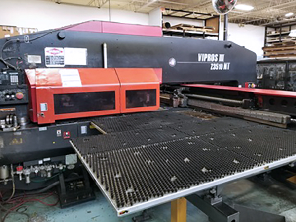 Used Turret Punch Amada Vipros III Z3510NT 2004