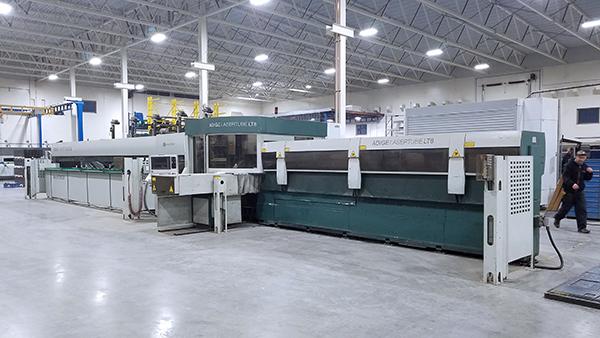 Used Laser Cutting Machine BLM Adige LT8 2010