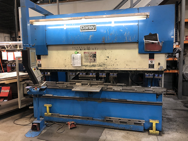Used Hydraulic Press Brake Darley EHP 110 31/25 1998