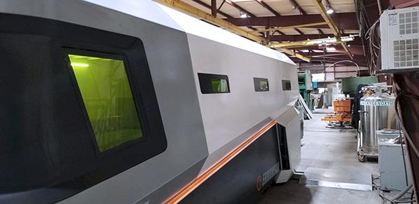 Used Fiber Laser Cutting Machine  Ermak SM 4000 4kw 2015