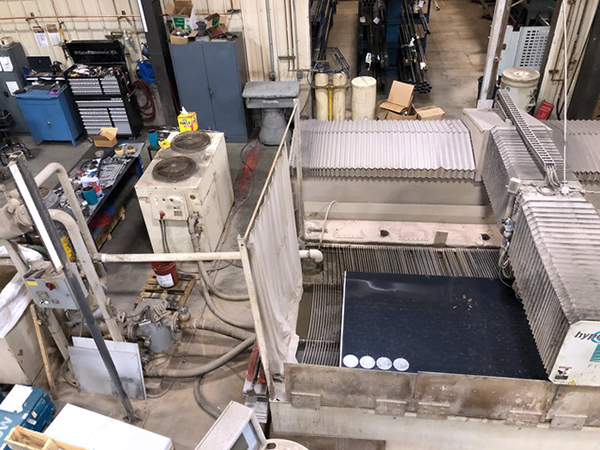 Used Water Jet Flow 6012 2007