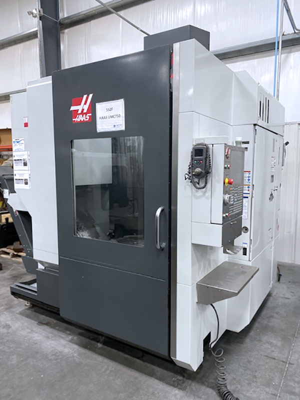Used 5 Axis Machining Center Haas UMC-750 2013