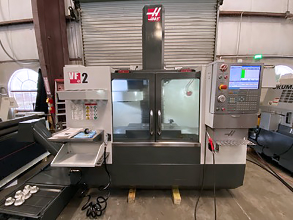 Used Vertical Turning Center Haas VF-2 2016