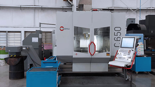 Used 5 Axis Machining Center Hermle C650 2019