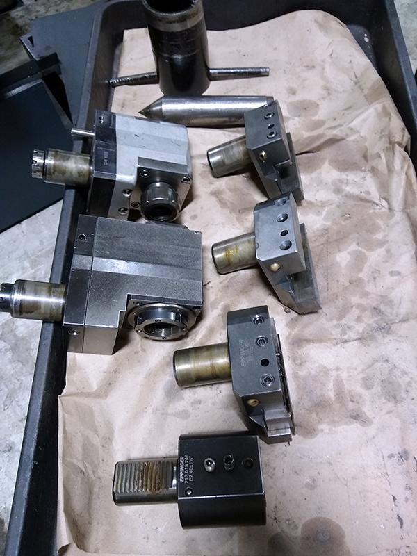 Used CNC Lathe Johnford SL-500 CS 2004