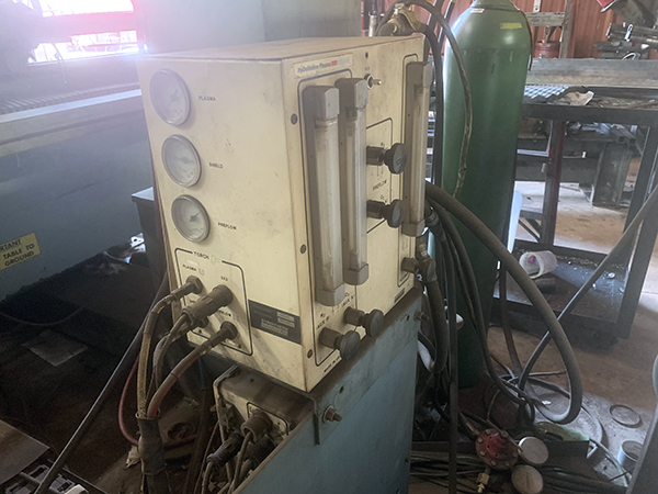 Used Plasma Cutting Machine Lockformer Vulcan 2900 1995