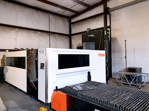 Used Laser Cutting Machine Mazak Optiplex 3015 Fiber II 2016